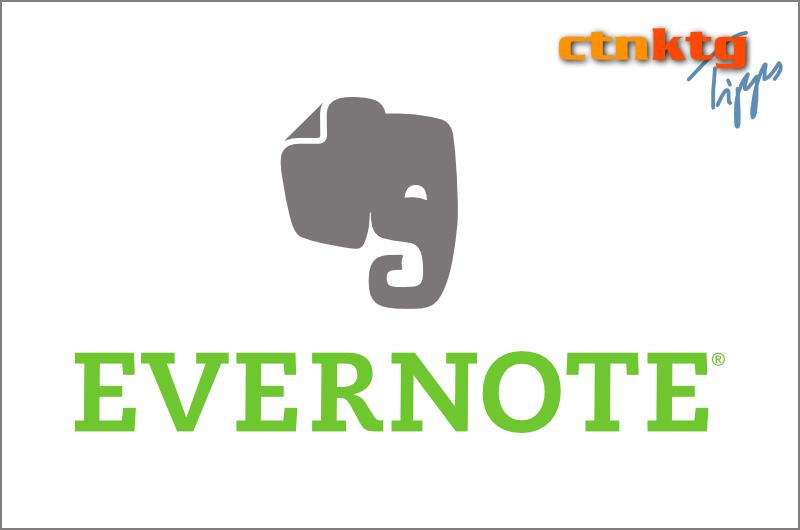 Evernote: Mail-Symbole richtig einsetzen
